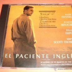 CDs de Música: EL PACIENTE INGLÉS / BANDA SONORA ORIGINAL / GABRIEL YARED / BSO / ORIGINAL SOUNDTRACK / CD /. Lote 56662538