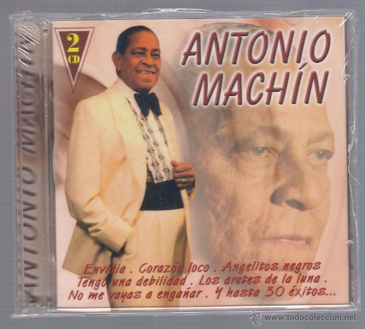 ANTONIO MACHIN - ... Y HASTA 30 ÉXITOS (2 CD 2003 HELIX NOVOSON) (Música - CD's Latina)