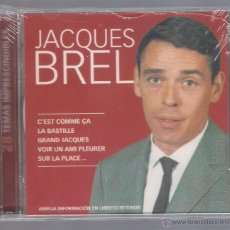 CDs de Musique: JACQUES BREL - 28 TEMAS IMPRESCINDIBLES (2 CD 2006 JESSICA NOVOSON) CANCIÓN FRANCESA. Lote 48463702