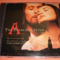 CDs de Música: THE SCARLET LETTER / ORIGINAL SOUNDTRACK / LA LETRA ESCARLATA / BANDA SONORA / JOHN BARRY / BSO / CD. Lote 210640294