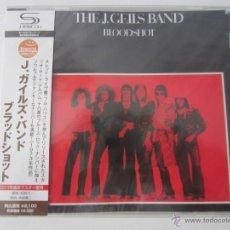 CDs de Música: J. GEILS BAND - BLOODSHOT 1973/2011 JAPAN SHM CD WQCP-1050. Lote 48466826