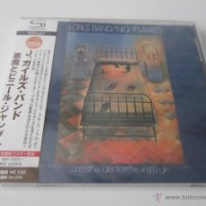CDs de Música: J. GEILS BAND - NIGHTMARES .. AND OTHER TALES FROM THE VINYL JUNGLE 1974/2011 JAPAN SHM CD WQCP-1090. Lote 48466873