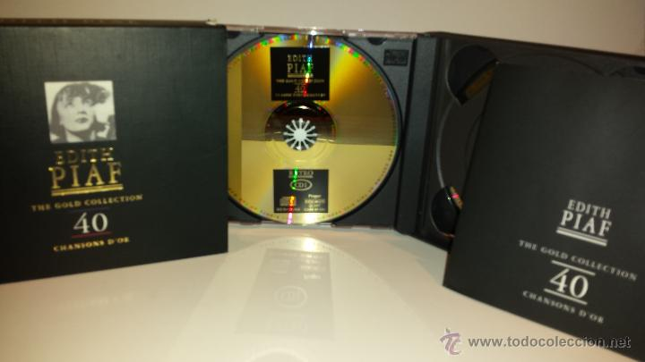 EDITH PIAF / THE GOLD COLLECTION / DOBLE CD / RETRO - 1997. CALIDAD - GRAN LUJO !! (Música - CD's Melódica )