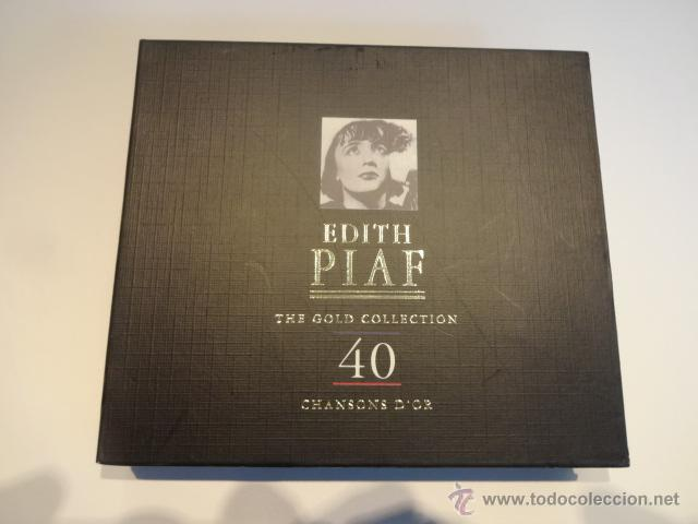 CDs de Música: EDITH PIAF / THE GOLD COLLECTION / DOBLE CD / RETRO - 1997. CALIDAD - GRAN LUJO !! - Foto 2 - 48468615