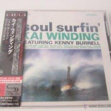 CDs de Música: KAI WINDING - SOUL SURFIN'/MONDO CANE # 2 1963/1964/2012 JAPAN SHM CD UCCU-3180 * DIGITAL REMASTER. Lote 48480954