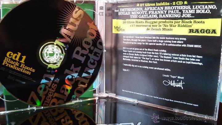CDs de Música: ZENAH MUSIC MEETS BLACK ROOTS PRODUCTION - From earlly 70´s to 21 st Century - 2CD - reggae - ragga - Foto 2 - 48487728