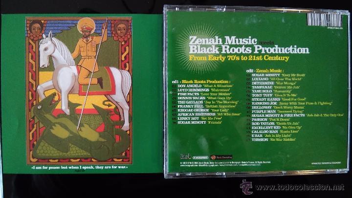 CDs de Música: ZENAH MUSIC MEETS BLACK ROOTS PRODUCTION - From earlly 70´s to 21 st Century - 2CD - reggae - ragga - Foto 3 - 48487728