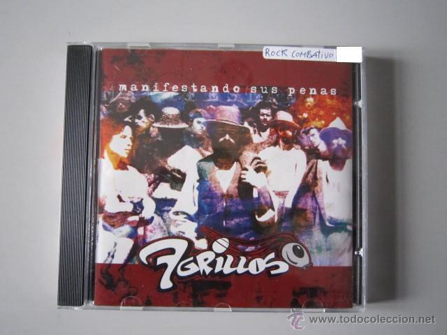 CD - ROCK COMBATIVO - 7 GRILLOS (MANIFESTANDO SUS PENAS) - 2002 (Música - CD's Rock)