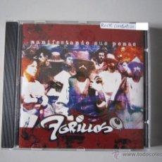CDs de Música: CD - ROCK COMBATIVO - 7 GRILLOS (MANIFESTANDO SUS PENAS) - 2002. Lote 61173994