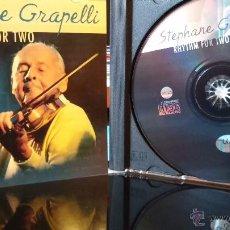 CDs de Música: STEPHANE GRAPELLI - RHYTHM FOR TWO - CD. Lote 48511452
