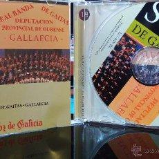 CDs de Música: REAL BANDA DE GAITAS GALLAECIA - COLECCIÓN SON GALICIA - CD - OURENSE/GZ. Lote 48511801