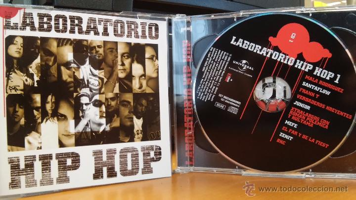 LABORATORIO HIP HOP - 2CD (MALA RODRÍGUEZ, FRANK T, VERDADEROS KREYENTES...) HIP-HOP / RAP (Música - CD's Hip hop)