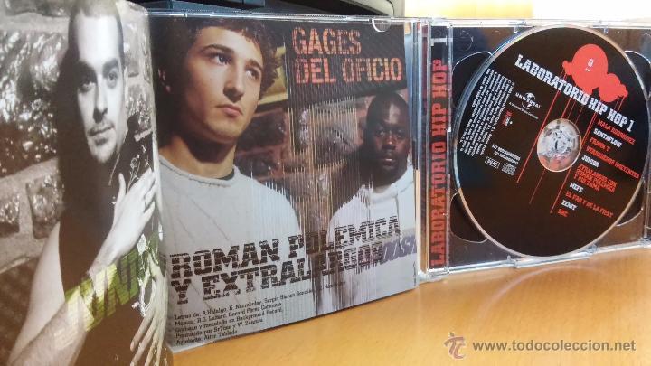 CDs de Música: LABORATORIO HIP HOP - 2CD (Mala Rodríguez, Frank T, Verdaderos Kreyentes...) hip-hop / rap - Foto 3 - 48512780