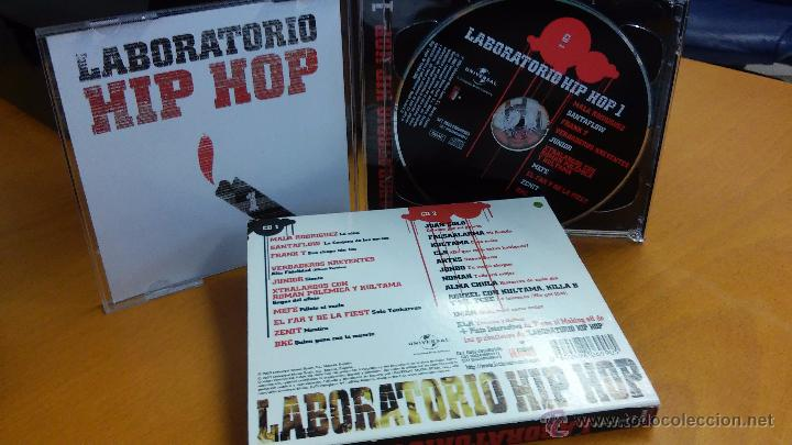 CDs de Música: LABORATORIO HIP HOP - 2CD (Mala Rodríguez, Frank T, Verdaderos Kreyentes...) hip-hop / rap - Foto 4 - 48512780