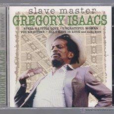 CDs de Música: GREGORY ISAACS - SLAVE MASTER (CD 2002 DELTA MUSIC). Lote 48515977