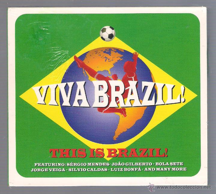 VARIOS - VIVA BRAZIL! THIS IS BRAZIL! (3 CD DIGIPACK 2014 NOT NOW) (Música - CD's Latina)