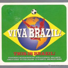 CDs de Música: VARIOS - VIVA BRAZIL! THIS IS BRAZIL! (3 CD DIGIPACK 2014 NOT NOW). Lote 48516216