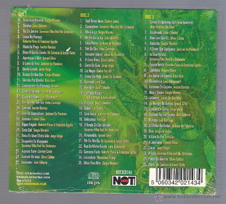 CDs de Música: VARIOS - Viva Brazil! This is Brazil! (3 CD digipack 2014 Not Now) - Foto 2 - 48516216