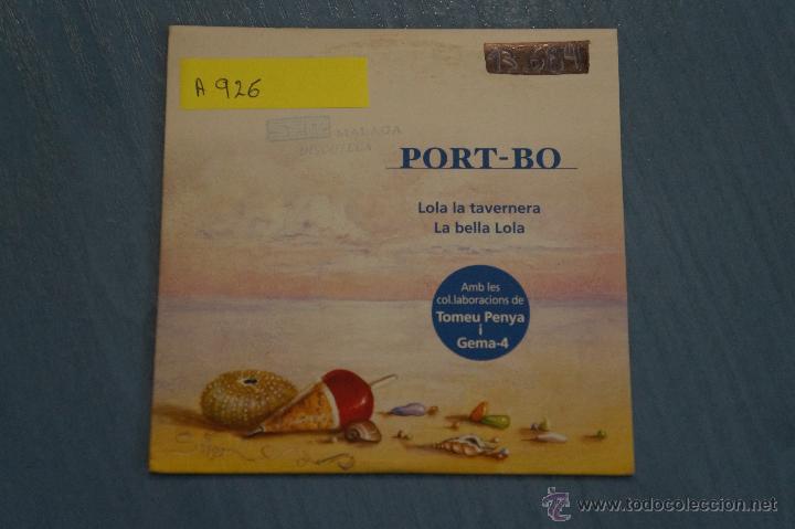 Cd Promocional Cartón De Música De Port Bo La B Comprar En Todocoleccion 48518455