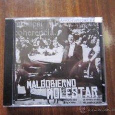 CDs de Música: CD - ANARCOPUNK - MAL GOBIERNO (MOLESTAR) - 2004 - IMPORTACIÓN CHILE. Lote 48521992