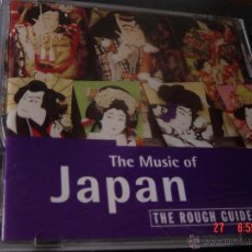CDs de Música: THE ROUGH GUIDE TO THE MUSIC OF JAPAN. CD WORLD MUSIC NETWORK. IMPECABLE. (#). Lote 48530499