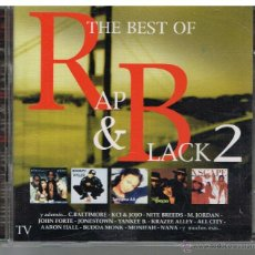 CDs de Música: THE BEST OF RAP & BLACK 2 - 2 CDS 1999. Lote 48537796