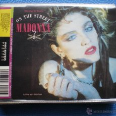 CDs de Música: MADONNA ON THE STREET CD SINGLE UK 1993 2 CORTES.THE EARLY YEARS. PDELUXE. Lote 48540976