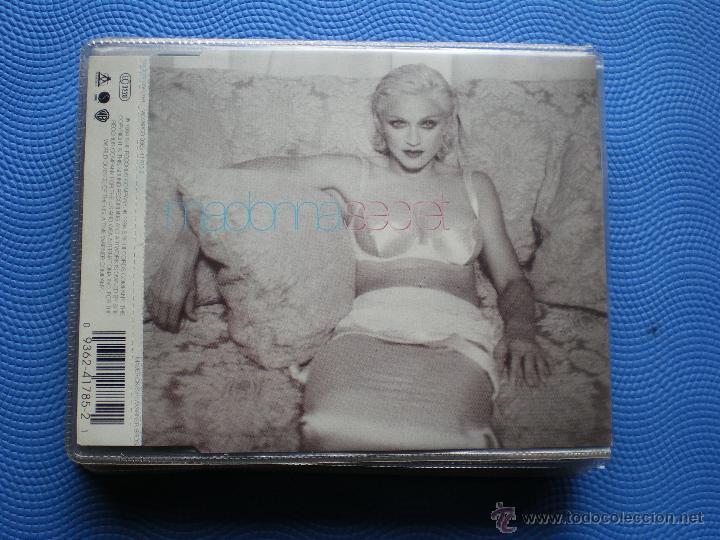 MADONNA SECRET CD SINGLE USA 1984 4CORTES.SECRET INSTRUMENTAL INCLUIDO. PDELUXE (Música - CD's Pop)