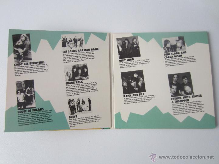 CDs de Música: RHINOS NEW ARTIST SAMPLER - DONT READ WHILE YOU LISTEN! 1988 USA CD - Foto 3 - 48552698