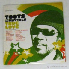 CDs de Música: TOOTS AND THE MAYTALS, CD PROMOCIONAL PROMO ADVANCE, TRUE LOVE, 15 TRACKS, 2004. Lote 48563900