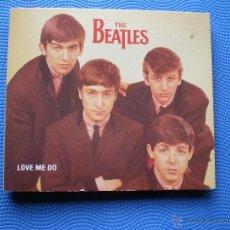 CDs de Música: THE BEATLES LOVE ME DO CD MAXI UK 1992 GATEFOLD.LAS 2 VERSIONES DE LOVE ME DO: CON RINGO PDELUXE. Lote 48576717