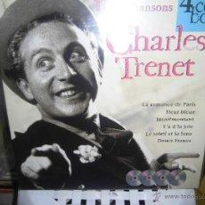 CDs de Música: CHARLES TRENET CAJA CON 4 CDS DISKY EDITADO EN HOLANDA. Lote 48580542