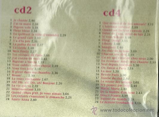 CDs de Música: CHARLES TRENET CAJA CON 4 CDS DISKY EDITADO EN HOLANDA - Foto 3 - 48580542