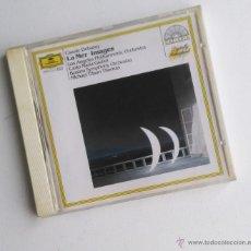 CD di Musica: DEBUSSY; LA MER- IMAGES. DIRIGIDO POR CARLO MARÍA GIULINI Y TILSON THOMAS.. Lote 48582077