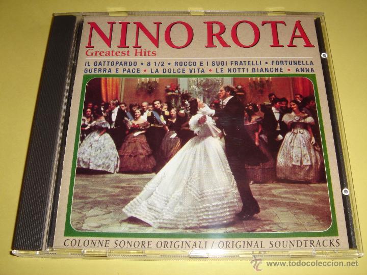 NINO ROTA - GREATEST HITS - SELECCIÓN DE BANDA SONORA DE NINO ROTA - ORIGINAL SOUNDTRACK - BSO - CD (Música - CD's Bandas Sonoras)