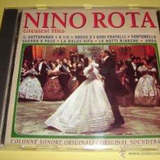 CDs de Música: NINO ROTA - GREATEST HITS - SELECCIÓN DE BANDA SONORA DE NINO ROTA - ORIGINAL SOUNDTRACK - BSO - CD. Lote 48594229