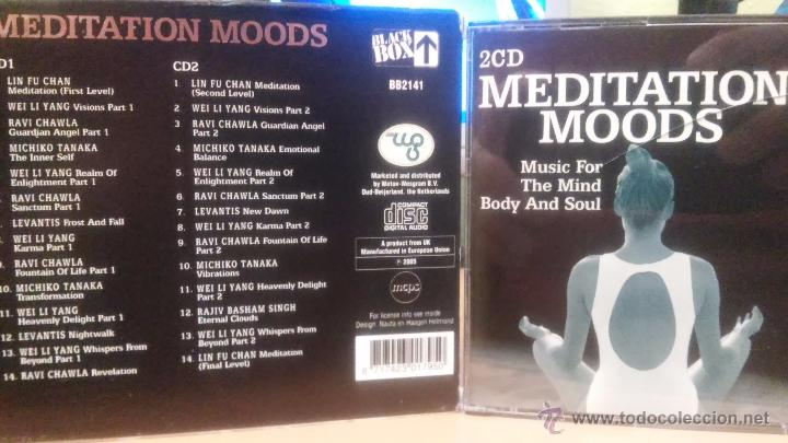MUSIC FOR THE MIND BODY AND SOUL (MEDITATION MOODS) - 2CD - (RAVI CHAWLA, LEVANTIS...) - NEW AGE (Música - CD's New age)