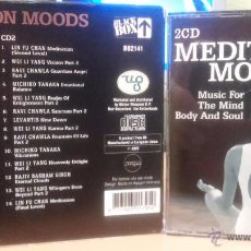 CDs de Música: MUSIC FOR THE MIND BODY AND SOUL (MEDITATION MOODS) - 2CD - (RAVI CHAWLA, LEVANTIS...) - NEW AGE. Lote 48596454