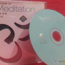 CDs de Música: THE HEALING POWER OF TAO MEDITATION - WEI LI YANG (MUSIC TO RELAX THE BODY AND MIND) CD - NEW AGE. Lote 48597130