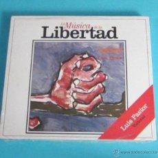 CDs de Música: LUIS PASTOR. VALLECAS. COLECCIÓN MÚSICA DE LA LIBERTAD Nº 8. Lote 48616422