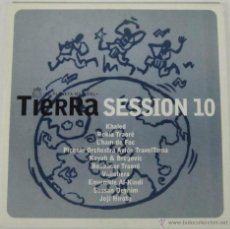 CDs de Música: TIERRA SESSION 10 - EL PLANETA MUSICAL - CD - KHALED - VALLOBERA - JOJI HIROTA - ROKIA TRAORE. Lote 48623277