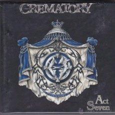 CDs de Música: CREMATORY - ACT SEVEN. Lote 48631639