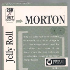 CDs de Música: JELLY ROLL MORTON - CLASSIC JAZZ ARCHIVE (2 CD + 20 PAGE BOOKLET, DIGIPACK). Lote 52447782