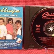 CDs de Música: COLLAGE - TROPPO BELLA Y OTROS ÉXITOS (CONCERTO D´AMORE, UN´ ALTRA ESTATE, DONNA MÚSICA...) CD. Lote 48639145