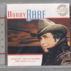 CDs de Música: BOBBY BARE - DETROIT CITY. STREETS OF BALTIMORE. MARIE LAVERU AND MANY OTHERS (CD 2003 IMC MUSIC). Lote 48640548