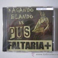 CDs de Música: CD - SPLIT - PUNK - KAGANDO BLANDO Y PUS (FALTARÍA +) - PRECINTADO. Lote 48648527