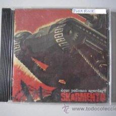 CDs de Música: CD - PUNK ROCK - SKARMENTO (¿QUE PODEMOS AGARDAR?) - 2004. Lote 48649033