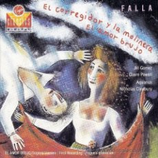CDs de Música: FALLA - EL AMOR BRUJO, EL CORREGIDOR Y LA MOLINERA - CD. Lote 48655285
