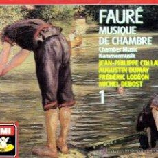 CDs de Música: FAURE - MUSICA DE CAMARA, VOL. 1 - 2CDS (DESPRECINTADO). Lote 48655315