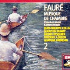 CDs de Música: FAURE - MUSICA DE CAMARA, VOL. 2 - 2CDS (DESPRECINTADO). Lote 48655341